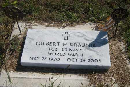 KRAJNIK, GILBERT H. - Saline County, Nebraska | GILBERT H. KRAJNIK - Nebraska Gravestone Photos