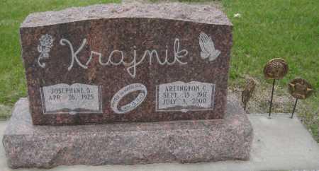KRAJNIK, ARLINGTON C. - Saline County, Nebraska   ARLINGTON C. KRAJNIK - Nebraska Gravestone Photos
