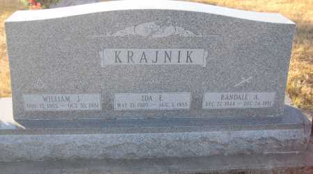 KRAJNIK, IDA E. - Saline County, Nebraska | IDA E. KRAJNIK - Nebraska Gravestone Photos