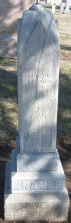 KRAMER, JACOB - Saline County, Nebraska | JACOB KRAMER - Nebraska Gravestone Photos