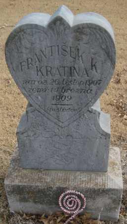KRATINA, FRANTISEK K. - Saline County, Nebraska | FRANTISEK K. KRATINA - Nebraska Gravestone Photos