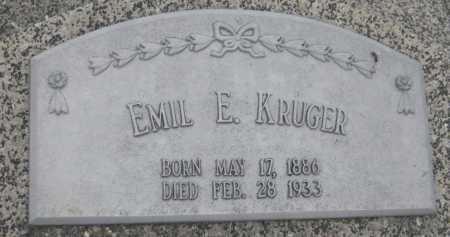 KRUEGER, EMIL E. - Saline County, Nebraska | EMIL E. KRUEGER - Nebraska Gravestone Photos