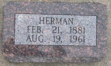 KRUEGER, HERMAN - Saline County, Nebraska | HERMAN KRUEGER - Nebraska Gravestone Photos