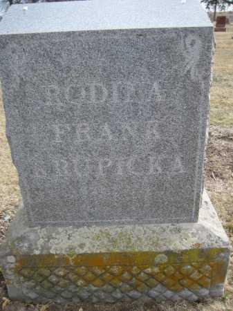 "KRUPICKA, MAGDALENE ""LENA"" - Saline County, Nebraska | MAGDALENE ""LENA"" KRUPICKA - Nebraska Gravestone Photos"