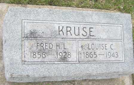 KRUSE, FRED H. L. - Saline County, Nebraska | FRED H. L. KRUSE - Nebraska Gravestone Photos