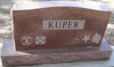 KUPER, M. JUNE - Saline County, Nebraska | M. JUNE KUPER - Nebraska Gravestone Photos