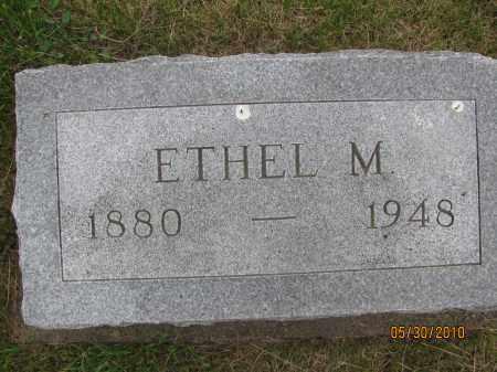 LAIN, ETHEL M. - Saline County, Nebraska | ETHEL M. LAIN - Nebraska Gravestone Photos