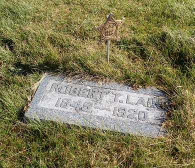 LAIN, ROBERT T. - Saline County, Nebraska | ROBERT T. LAIN - Nebraska Gravestone Photos