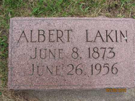 LAKIN, ALBERT - Saline County, Nebraska   ALBERT LAKIN - Nebraska Gravestone Photos