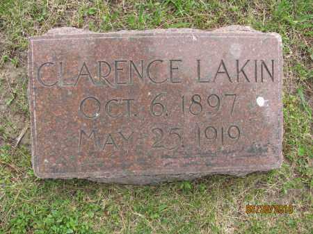 LAKIN, CLARENCE - Saline County, Nebraska | CLARENCE LAKIN - Nebraska Gravestone Photos