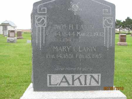 LAKIN, MARY I. - Saline County, Nebraska | MARY I. LAKIN - Nebraska Gravestone Photos