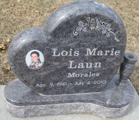 LAUN MORALES, LOIS MARIE - Saline County, Nebraska | LOIS MARIE LAUN MORALES - Nebraska Gravestone Photos