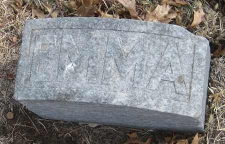 LEWIS, EMMA - Saline County, Nebraska | EMMA LEWIS - Nebraska Gravestone Photos