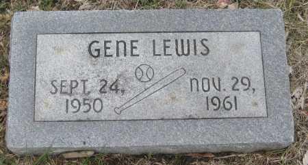 LEWIS, GENE - Saline County, Nebraska | GENE LEWIS - Nebraska Gravestone Photos