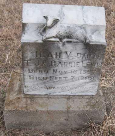 LEWIS, ILAH V. - Saline County, Nebraska   ILAH V. LEWIS - Nebraska Gravestone Photos