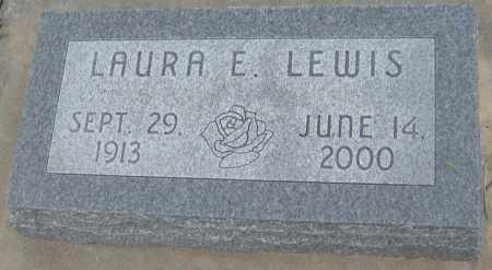 LEWIS, LAURA E. - Saline County, Nebraska   LAURA E. LEWIS - Nebraska Gravestone Photos