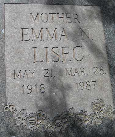 LISEC, EMMA N. - Saline County, Nebraska | EMMA N. LISEC - Nebraska Gravestone Photos