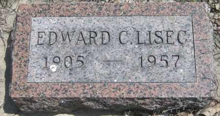 LISEC, EDWARD CHARLES - Saline County, Nebraska | EDWARD CHARLES LISEC - Nebraska Gravestone Photos