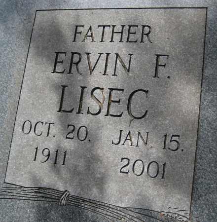LISEC, ERVIN F. - Saline County, Nebraska | ERVIN F. LISEC - Nebraska Gravestone Photos