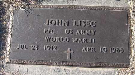 LISEC, JOHN - Saline County, Nebraska | JOHN LISEC - Nebraska Gravestone Photos