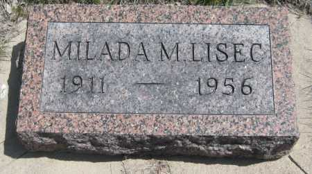 KUBICEK LISEC, MILADA MILDRED - Saline County, Nebraska | MILADA MILDRED KUBICEK LISEC - Nebraska Gravestone Photos