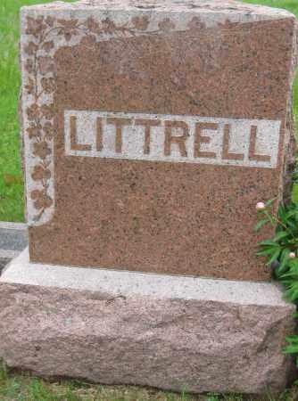 LITTRELL, FAMILY STONE - Saline County, Nebraska | FAMILY STONE LITTRELL - Nebraska Gravestone Photos