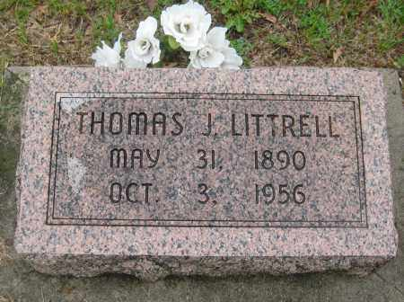 LITTRELL, THOMAS J. - Saline County, Nebraska | THOMAS J. LITTRELL - Nebraska Gravestone Photos