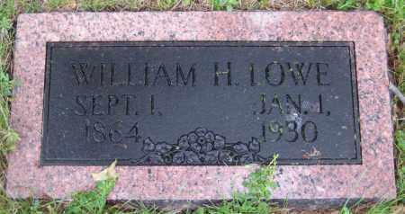 LOWE, WILLIAM H. - Saline County, Nebraska | WILLIAM H. LOWE - Nebraska Gravestone Photos