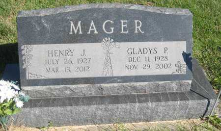 MAGER, HENRY JAMES - Saline County, Nebraska | HENRY JAMES MAGER - Nebraska Gravestone Photos