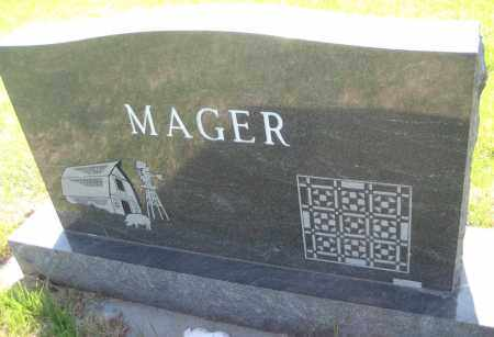 MAGER, JAMES - Saline County, Nebraska   JAMES MAGER - Nebraska Gravestone Photos