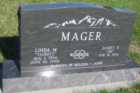 MAGER, LINDA M. - Saline County, Nebraska | LINDA M. MAGER - Nebraska Gravestone Photos