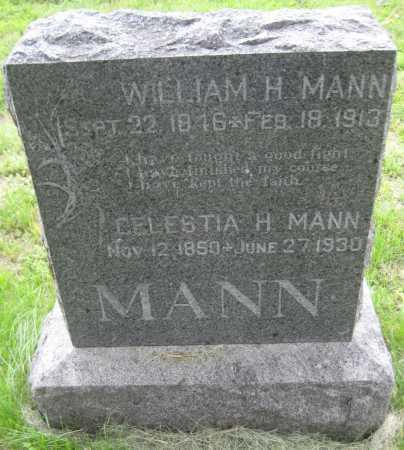 MANN, CLESTIA HAYFORD - Saline County, Nebraska | CLESTIA HAYFORD MANN - Nebraska Gravestone Photos