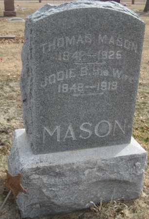 MASON, JODIE B. - Saline County, Nebraska | JODIE B. MASON - Nebraska Gravestone Photos
