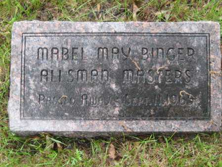 MASTERS, MABEL MAY - Saline County, Nebraska | MABEL MAY MASTERS - Nebraska Gravestone Photos