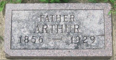 MCCRACKEN, ARTHUR - Saline County, Nebraska   ARTHUR MCCRACKEN - Nebraska Gravestone Photos