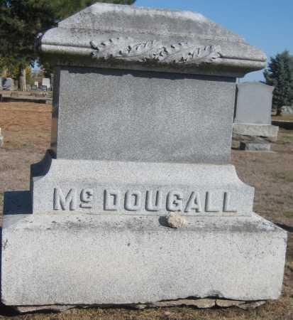 MCDOUGALL, FAMILY MONUMENT - Saline County, Nebraska | FAMILY MONUMENT MCDOUGALL - Nebraska Gravestone Photos