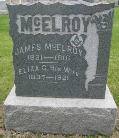 MCELROY, JAMES - Saline County, Nebraska | JAMES MCELROY - Nebraska Gravestone Photos