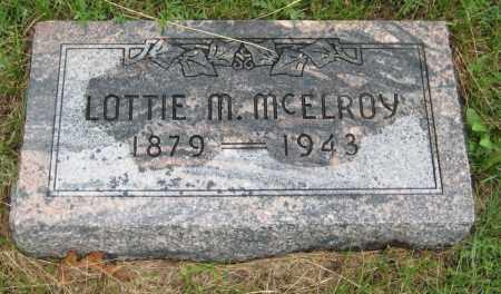 HARVEY MCELROY, LOTTIE MCFARLAND - Saline County, Nebraska   LOTTIE MCFARLAND HARVEY MCELROY - Nebraska Gravestone Photos