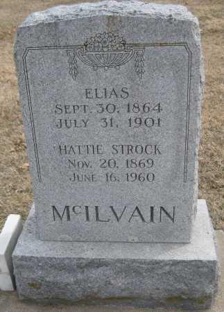 MCILVAIN, ELIAS - Saline County, Nebraska | ELIAS MCILVAIN - Nebraska Gravestone Photos