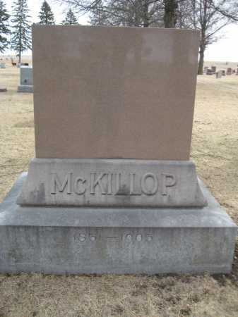 MCKILLOP, FAMILY MONUMENT - Saline County, Nebraska | FAMILY MONUMENT MCKILLOP - Nebraska Gravestone Photos