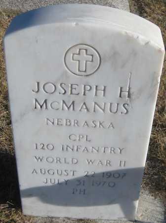 MCMANUS, JOSEPH H. - Saline County, Nebraska | JOSEPH H. MCMANUS - Nebraska Gravestone Photos