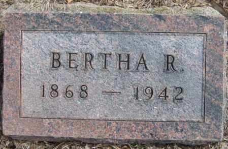 MEAD, BERTHA R. - Saline County, Nebraska | BERTHA R. MEAD - Nebraska Gravestone Photos