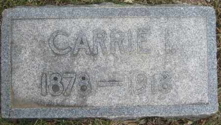 MEAD, CARRIE I. - Saline County, Nebraska | CARRIE I. MEAD - Nebraska Gravestone Photos