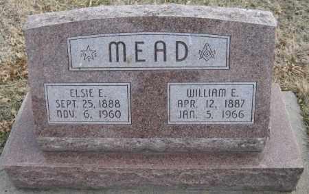 MEAD, ELSIE E. - Saline County, Nebraska | ELSIE E. MEAD - Nebraska Gravestone Photos
