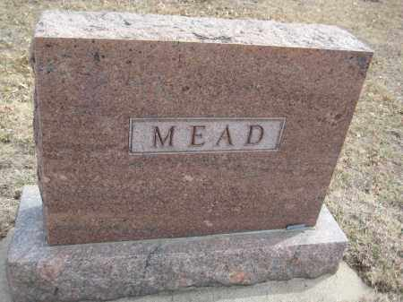 MEAD, FAMILY MONUMENT - Saline County, Nebraska | FAMILY MONUMENT MEAD - Nebraska Gravestone Photos