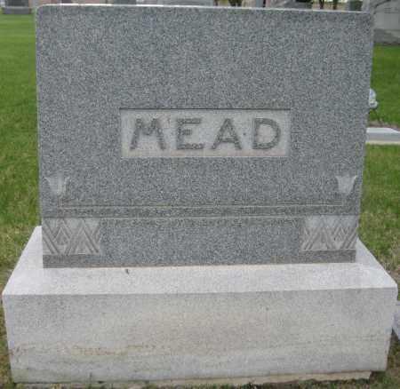 MEAD, FAMILY MONUMENT - Saline County, Nebraska   FAMILY MONUMENT MEAD - Nebraska Gravestone Photos