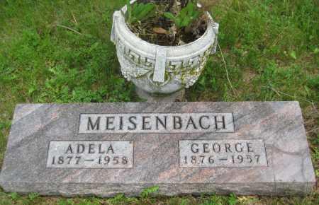 MEISENBACH, ADELA - Saline County, Nebraska   ADELA MEISENBACH - Nebraska Gravestone Photos