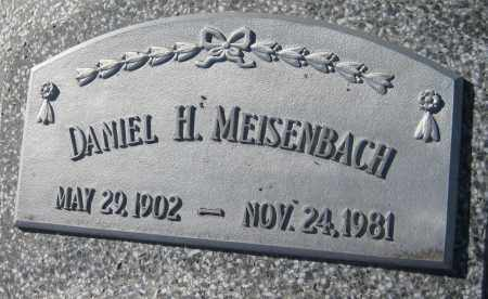 MEISENBACH, DANIEL H. - Saline County, Nebraska | DANIEL H. MEISENBACH - Nebraska Gravestone Photos