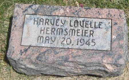 HERMSMEIER, HARVEY LOVELLE - Saline County, Nebraska | HARVEY LOVELLE HERMSMEIER - Nebraska Gravestone Photos