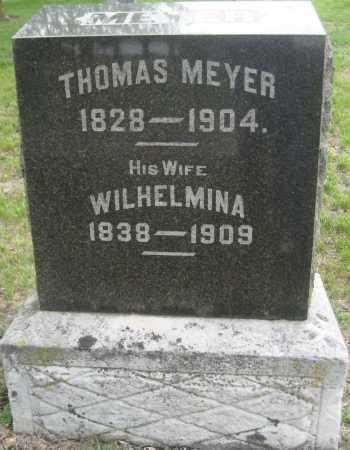 MEYER, THOMAS - Saline County, Nebraska | THOMAS MEYER - Nebraska Gravestone Photos